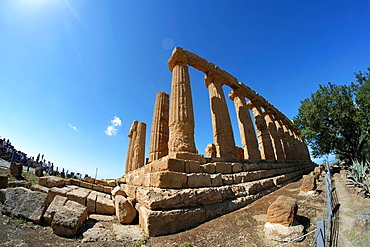 Temple of Hera, Valley of the Temples, Valle dei Templi, Agrigento, UNESCO World Heritage Site, Sicily, Italy, Europe
