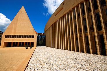 Building of Tourist info in Vordergasse, Vaduz, Liechtenstein