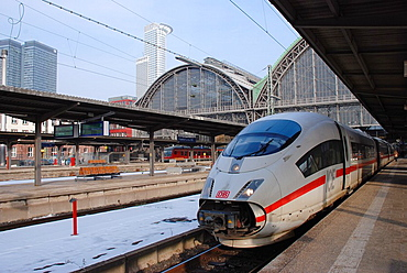 ICE main train station in Frankfurt / Main