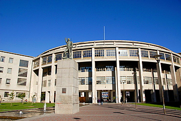 Building of the Courts of Justice in the city of Concepcion Chile