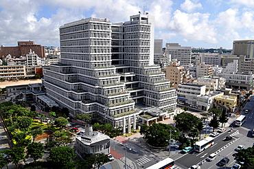 Naha, Okinawa, Japan, the new City Hall