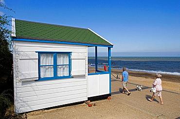Southwold, North Sea, Beach Huts, Suffolk, England