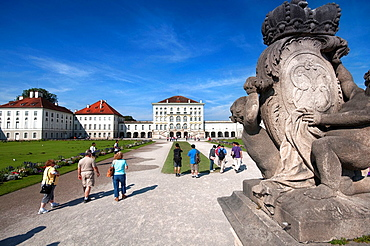 Germany, Bavaria, Munich, Schloss Nymphenburg Palace.