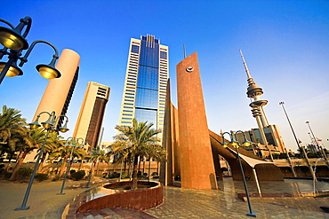 Kuwait, Kuwait City, downtown