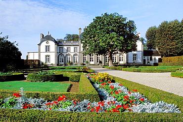 France, Brittany, Ille et Vilaine, Pleurtuit, Malouiniere du Montmarin
