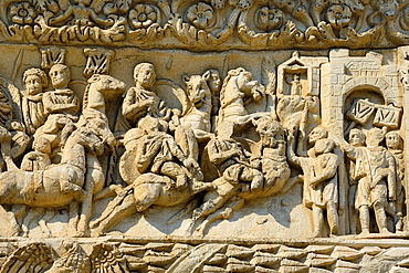 Greece, Central Macedonia, Thessaloniki, Arch of Galerius 4th C