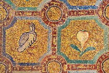 Greece, Central Macedonia, Thessaloniki, The Rotunda, listed as World Heritage, Paleochristian mosaics