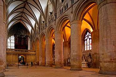 Gloucester cathedral, Gloucestershire, the Cotswolds, England.