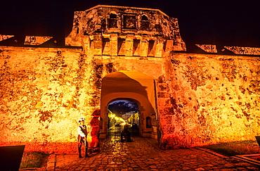 Puerta de Tierra. Land gate. Campeche.Mexico