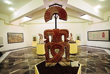 Museo de Sitio. Xochicalco archaelogical site. Xochicalco. Morelos. Mexico