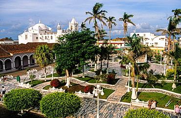 Zocalo Square. Tlacotalpan. Veracruz state. Mexico