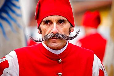 Ivrea Carnival, Italy.