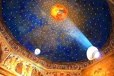 Capel of Santa Maria of Brescia.Santa Giulia. Brescia, Lombardy. Italy.