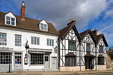 Stratford-upon-Avon, Henley Street, Shakespeare's Birthplace, Warwickshire, UK