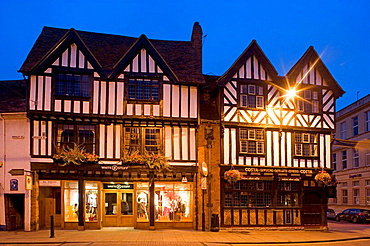 Stratford-upon-Avon, Henley Street, Warwickshire, the Midlands, UK