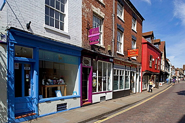 Worcester, Friar Street, half-timbered buildings,, Worcestershire, the Midlands, UK