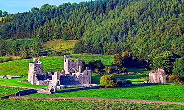 Fore Abbey, County Westmeath, Ireland.