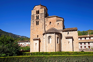 Church of Santa Cruz de la Seros, Huesca, Spain.