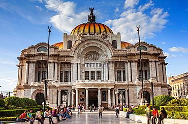 Palacio de Bellas Artes, Mexico City, Mexico.