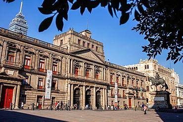 Escuela de Mineria, Plaza de Manuel Tolsa, Mexico City, Mexico.
