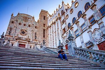 The rectory of the University of Guanajuato, Guanajuato, state Guanajuato, Mexico.