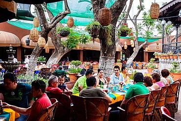 El Parian (traditional enclosure that houses bars and restaurants) Calle Juarez s/n, Tlaquepaque, Guadalajara, Jalisco, Mexico.