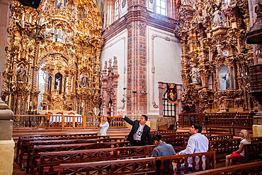 San Cayetano church (Templo de la Valenciana)1788, Guanajuato, state Guanajuato, Mexico.