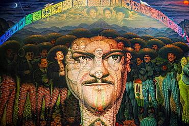 Casa Museo Jose Alfredo Jimenez, 'Jose Alfredo Jimenez' by Octavio Ocampo,Guanajuato 13, Dolores Hidalgo, Guanajuato State, Mexico.