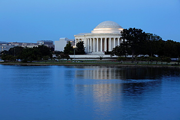 Thomas Jefferson Memorial in Washington D.C., USA.