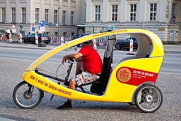 Tourist Bicycle in Berlin, Germany.