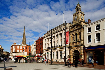 Hereford, Market Hall, High Town, Herefordshire, UK