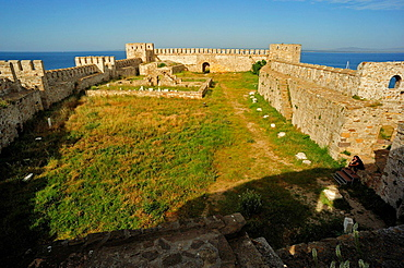 Fortress of Bozcaada, Bozcaada, Turkey.