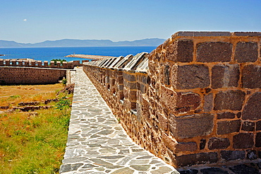 Fortress of Babakale, 1723, Biga Peninsula, Turkey.