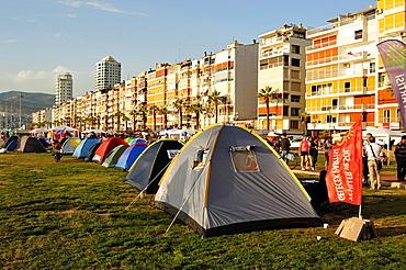 Protest camp, Izmir Turkey, June, 2013.