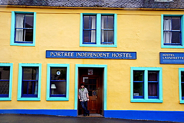 Independent hostel, Portree, Isle of Skye, Scotland, UK