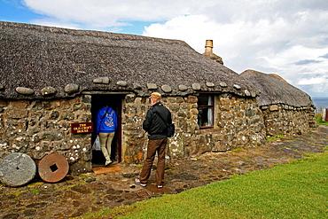 Hut, Museum, Isle of Skye, Highland, Scotland, UK