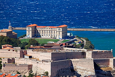The Palais du Pharo in Marseille, Bouches du Rhone, 13, Paca, France