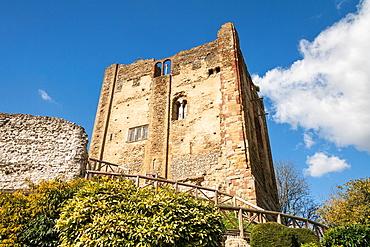 Guildford Castle, Guildford, Surrey, England.