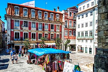 Plaza Comercio, Coimbra, Beira Province, Portugal, Unesco World Heritage Site.
