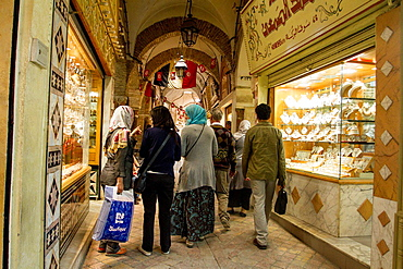 Souk in Tunisia.