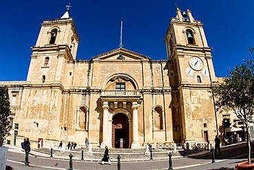 St John's co-cathedral, Valletta, Malta.