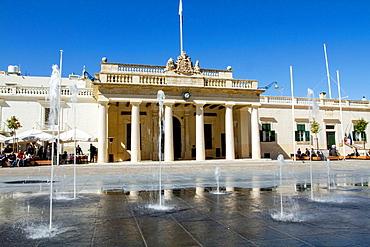 St George's Square, Valletta, Malta.
