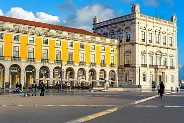 Comercio square, Lisbon, Portugal.