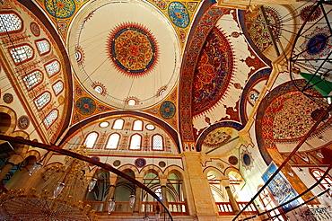 Interior of the Serafeddin Camii (Mosque) Konya, Turkey.