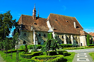 Sighisoara Saxon fortified medieval citadel, Transylvania, Romania.
