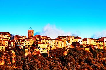Europe, France, Alpes-Maritimes, Saint-Cezaire village.