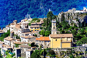 Europe, France, Alpes-Maritimes. Eze village.