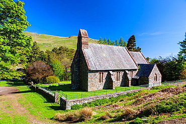 St Martin's Church, Martindale in the Lake District National Park, Cumbria, England, UK, Europe.