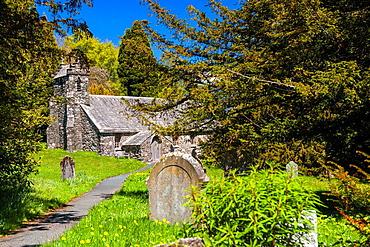 Matterdale Church, Matterdale, Lake District National Park, Cumbria, England, UK, Europe.
