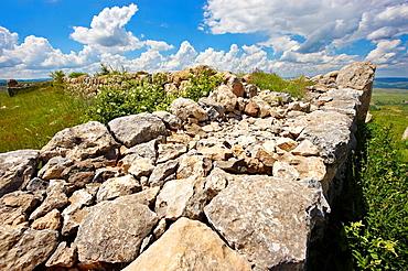Photo of the Palace Walls to the Hittite capital Hattusa 4.